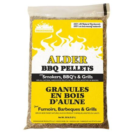 Smokehouse BBQ Pellets 20lb Bag Alder