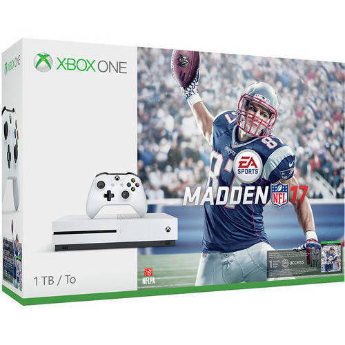 Xbox One S Madden NFL 17 Bundle (1TB)