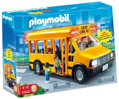Playmobil School Bus