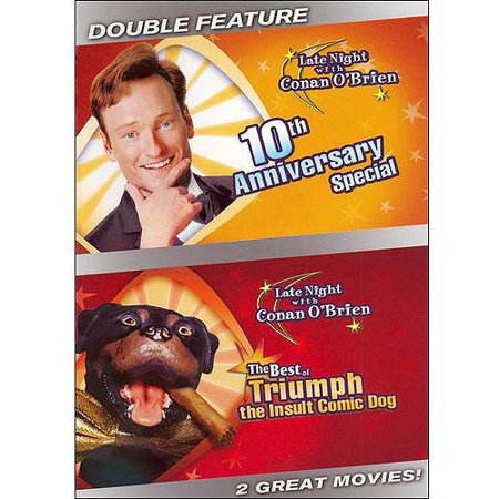 Late Night With Conan O'Brien: 10th Anniversary Special / The Best Of Triumph The Insult Comic Dog (Full Frame)