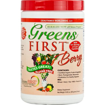 Greens First Berry Powder Doctors For Nutrition Ceautamed -10 Ounce