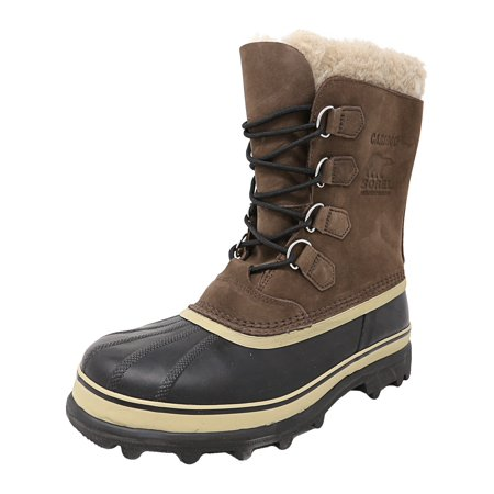 Sorel Men's Caribou Bruno Ankle-High Leather Snow Boot -