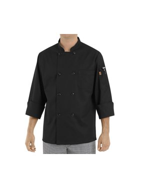 Men's Eight Pearl Button Chef Coat