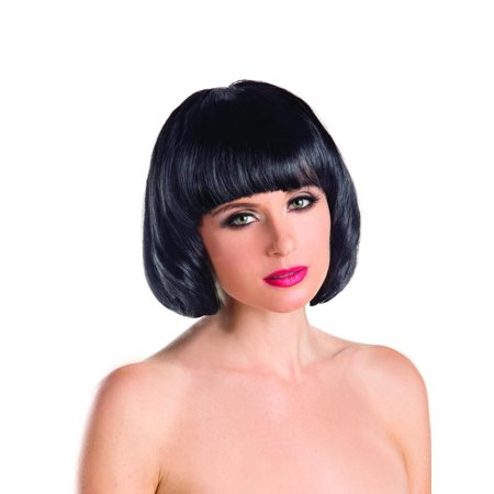 Short Black Bob Wig (Short Bob Female Wig)