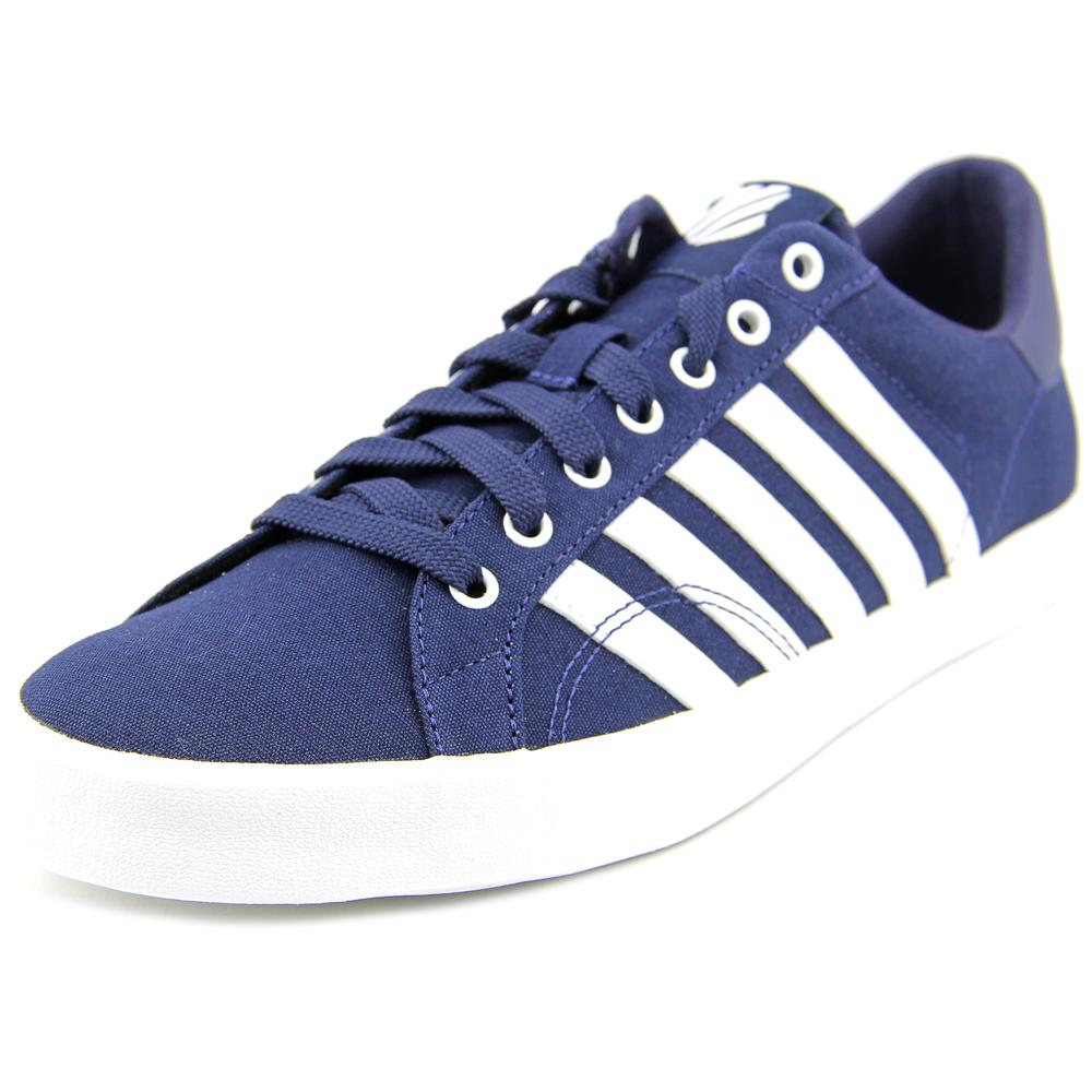 K-Swiss Belmont So T Round Toe Canvas Sneakers by K-Swiss