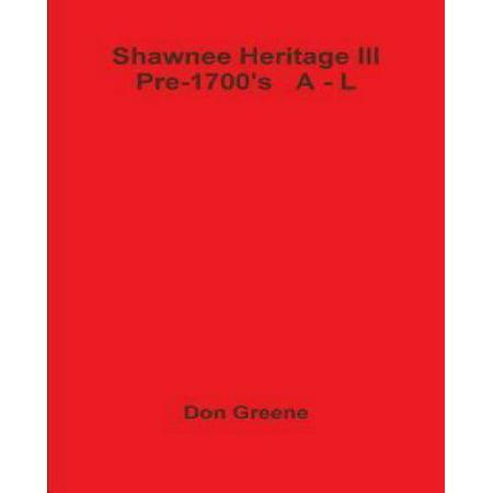 Shawnee Heritage III