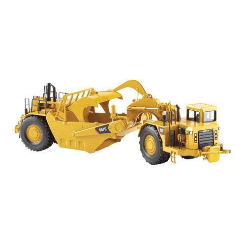 Norscot 55175 1:50 Caterpillar(R) 657G Wheel Tractor Scraper Assembled by Norscot