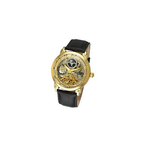 Stuhrling Original 165XL. 333531 Mens Winchester Revolution Automatic Gold Tone Case with Silver Tone Movement