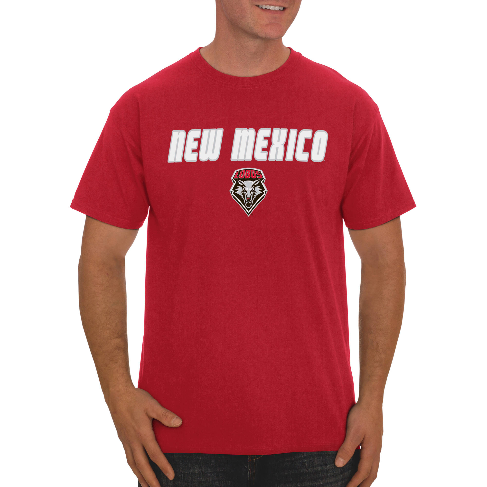 Russell NCAA New Mexico Lobos Big Men's Classic Cotton T-Shirt