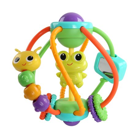 Bright Starts Clack & Slide Activity Ball - Ball Popper Toy