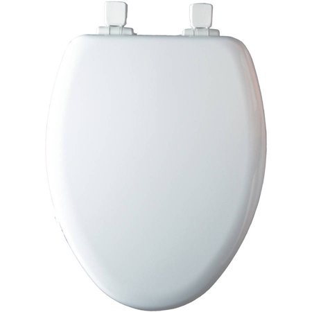 Mayfair White Elongated Slow Close Child/Adult NextStep Toilet Seat