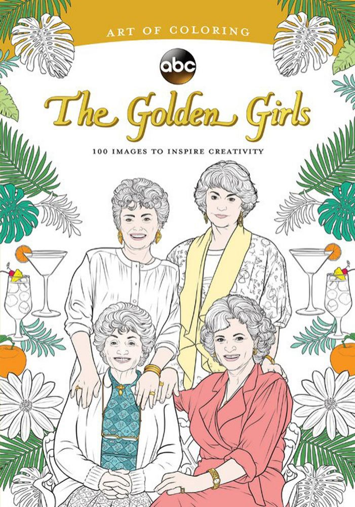 Art of Coloring: Golden Girls: 100 IMages to Inspire Creativity by Disney Pr