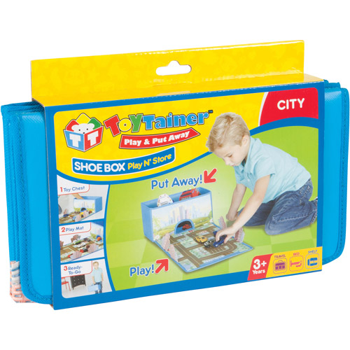 Toytainer Shoe Box Play-N-Store, Boy