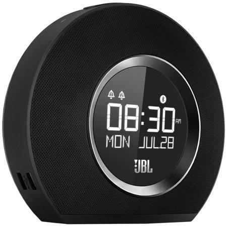 JBL Desktop Clock Radio - Stereo - 2 x Alarm - FM - (Top 10 Best Alarm Clocks)