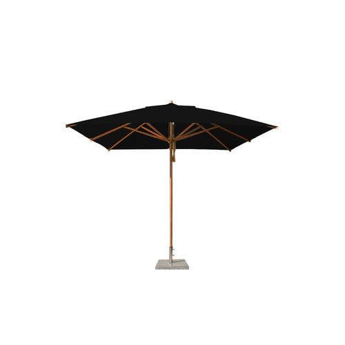 Bambrella 10' Square Bamboo Market Umbrella