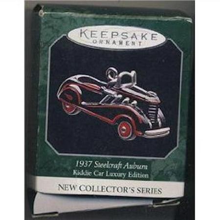 - Hallmark Ornament 1998 1937 Steelcraft Auburn Luxury Edition Kiddie Car Classics Miniature