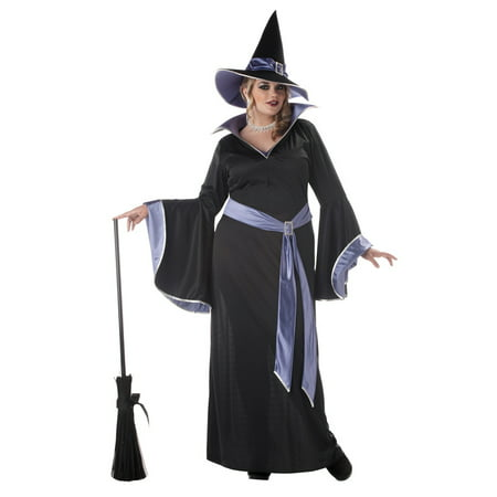 Plus Size Glamorous Incantasia Witch Costume, Plus Size Witch Costume
