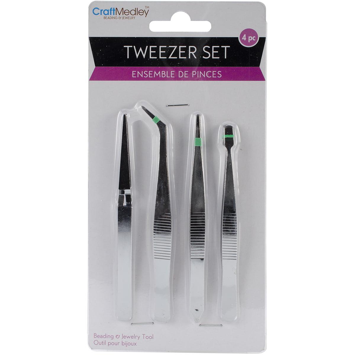 """Tweezers 4/Pkg-4.75"""""""