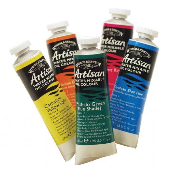 Winsor & Newton Oil Paint: Water Mixable, Cadmium Yellow Medium, 37 mL