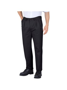 Genuine Dickies Men's Pleated Comfort-Waist Work Pants