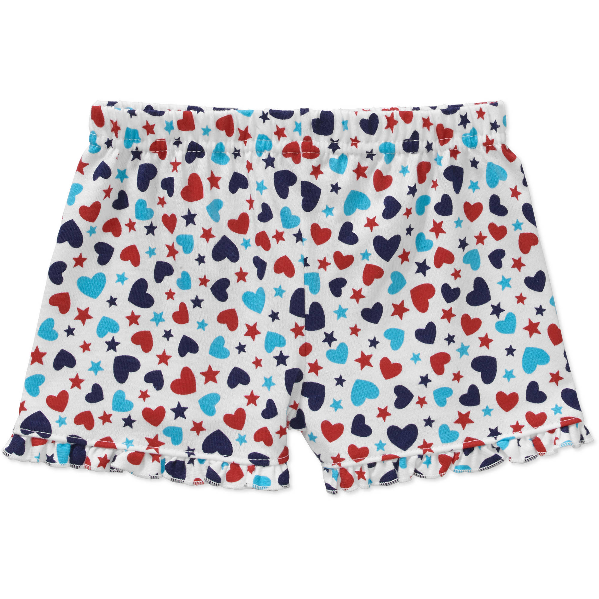 Garanimals Newborn Baby Girl Print Ruffle Shorts