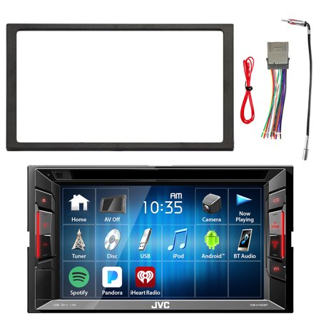 JVC Double DIN In-Dash DVD/CD/AM/FM Bluetooth Car Stereo ... on jvc support, jvc kd s28 wiring-diagram, jvc cd receiver manual, trailer wiring harness, jvc car stereo manual, painless wiring harness, jvc car stereo gauges, jvc harness diagram, jvc car speaker, jvc car stereo wire colors, jvc car stereo connectors, car audio wiring harness, jvc kw avx710 manual, jvc wiring harness adapter, pioneer wiring harness, jvc kdx 250, jvc wiring harness color coating, radio wiring harness, jvc car stereo faceplate,