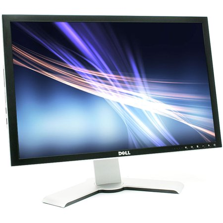 Resolution Lcd Display (Refurbished Dell 2407WFPB 1920 x 1200 Resolution 24