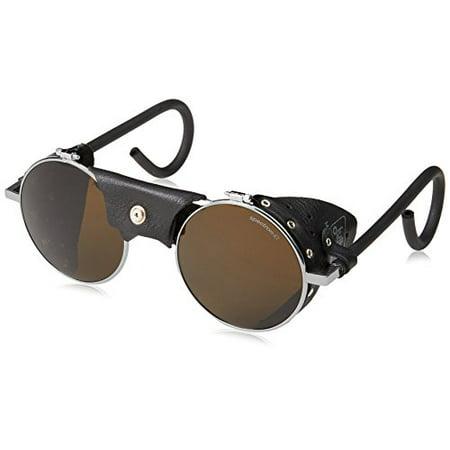 Vermont Classic Sunglasses: Chrome/Black with Spectron 4 Lenses