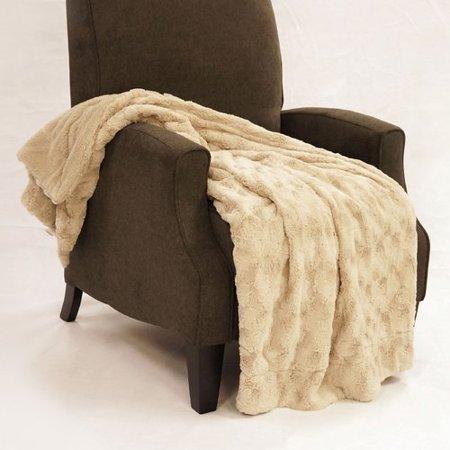 BOON Throw & Blanket Swirl Faux Fur Throw Blanket - Walmart.com