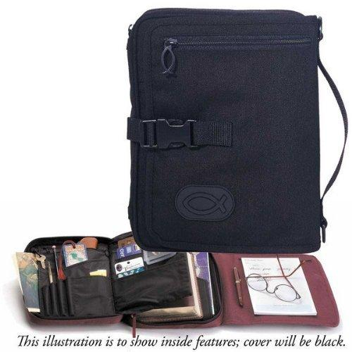 Bible Cover - Ultimate Organizer - Black - Large