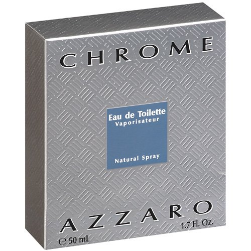Azzaro Chrome Eau de Toilette 1.7 oz Spray for Men