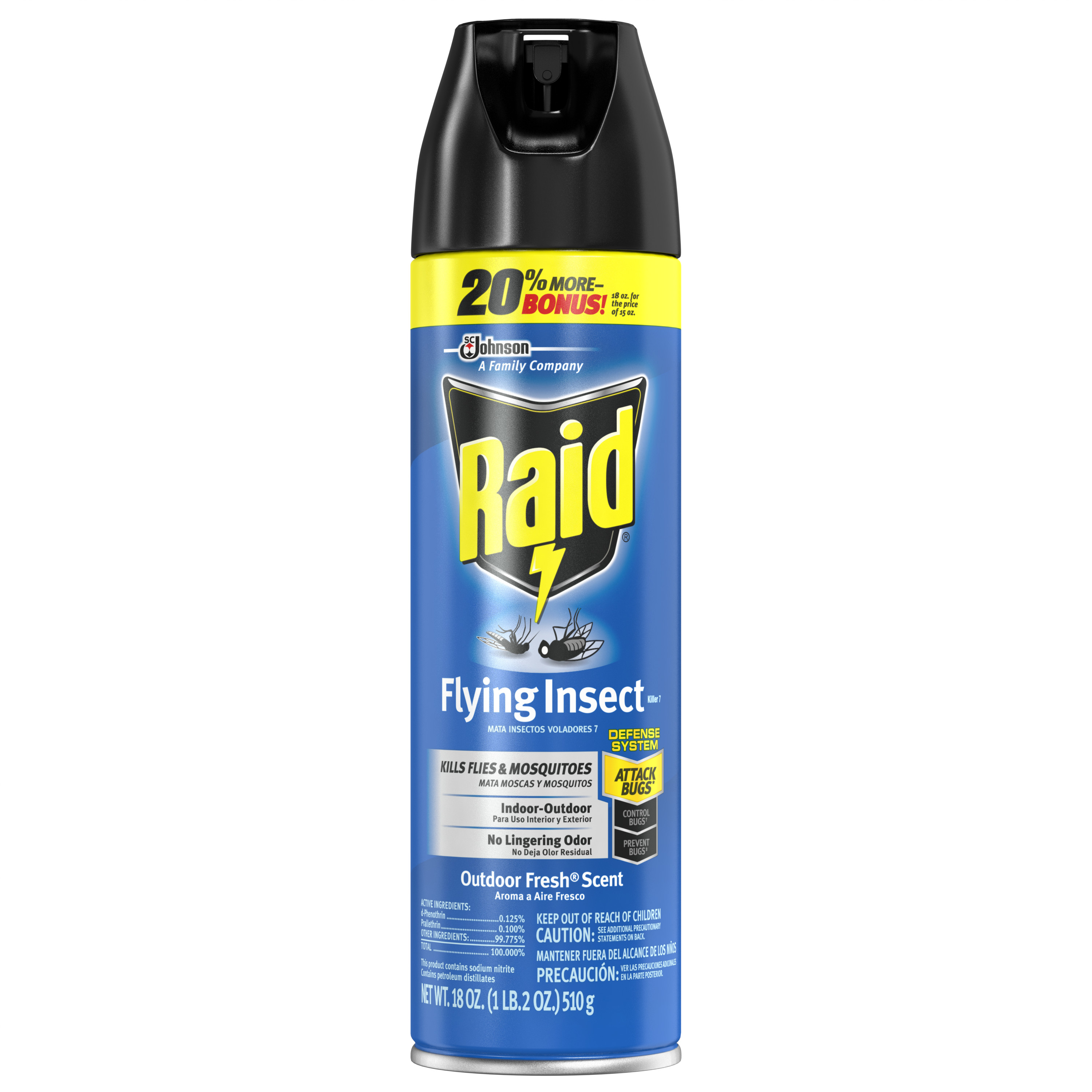 Raid Flying Insect Killer 18 Ounces