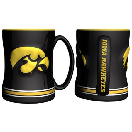 Iowa Hawkeyes Coffee Mug - 15oz Sculpted - image 1 de 1