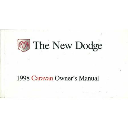 Bishko OEM Maintenance Owner's Manual Bound for Dodge Truck Caravan 1998 Dodge Caravan Car Owners Manual