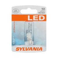 Sylvania 168 White LED Automotive Mini Bulb, Pack of 1.