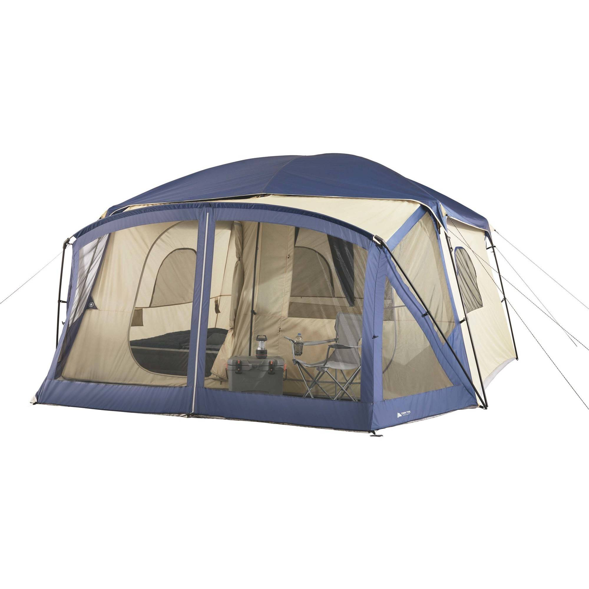 Click here to buy Ozark Trail 12-Person Cabin Tent with Screen Porch by CAMPEX BD LIMITED.