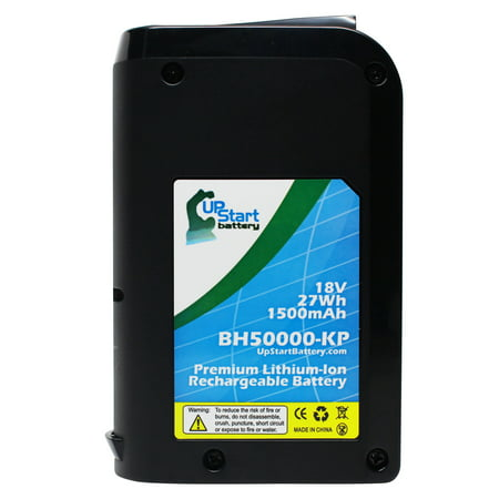 Compatible Hoover LiNX BH50000 Battery Replacement - For Hoover 18V Vacuum Battery (1500mAh, Lithium-Ion)