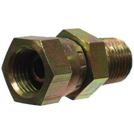 39004225 .25 in. Male Pipe x .37 in. Female Pipe Swivel, Hydraulic Adapter