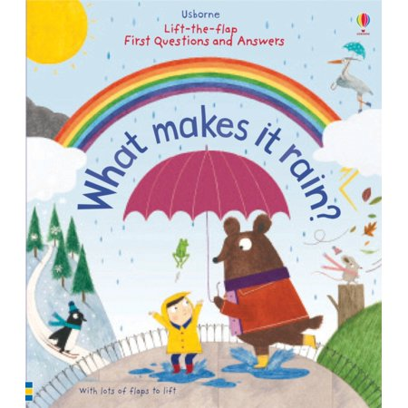 Lift-the-Flap First Questions and Answers What Makes it Rain? (Board book)](If It Rains On Halloween)