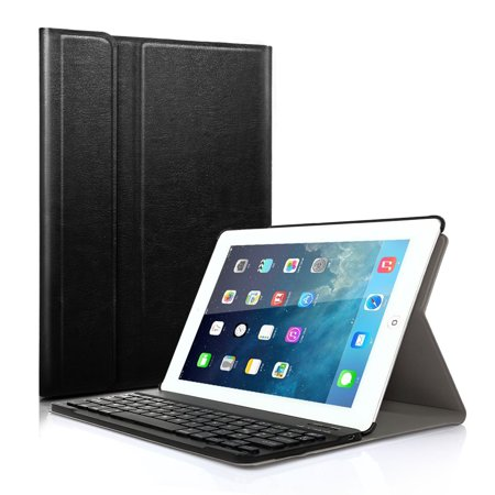 Really Thin Smartshell Stand Cover With Magnetically Detachable Wireless Bluetooth Keyboard Case For Apple Ipad 2 3 4