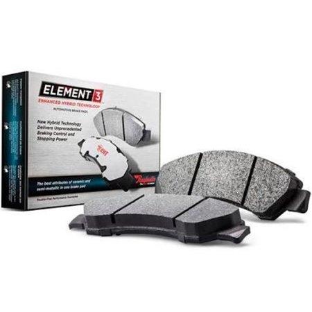 RM Brakes R53-EHT888AH 2012 Infiniti EX35 Brake Pad Set - image 1 of 1