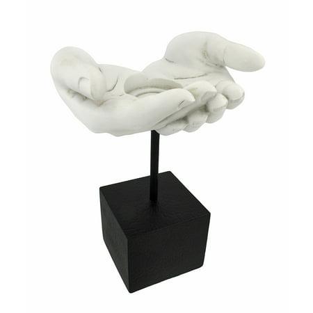 Healing Hands Votive Tea Lite Candle Holder Statue