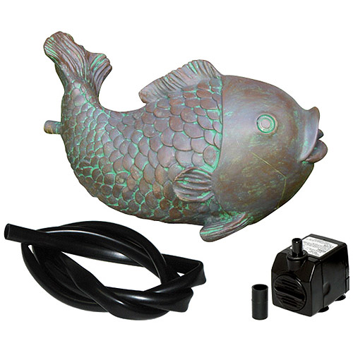 Koolscape Fish Spitter Kit with 100gph Pump and Tubing