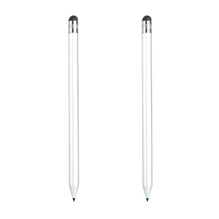 2-pack Precision Capacitive Stylus Touch Screen Pen for iPhone Samsung iPad and other Phone Tablet or