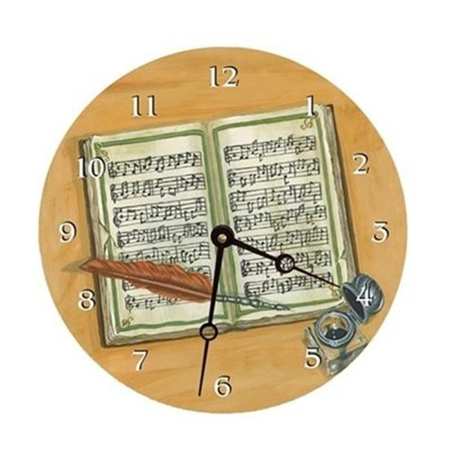 Lexington Studios 23061R Composing Round Clock by Lexington Studios