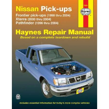 Nissan Pick-Ups : Frontier Pick-Ups (1998 Thru 2004), Xterra (2000 Thru 2004), Pathfinder (1996 Thru 2004)