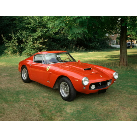 1960 Ferrari 250 GT Berlinetta SWB (short wheelbase) 30 litre V12 engine Country of origin Italy Rolled Canvas Art - Panoramic Images (11 x