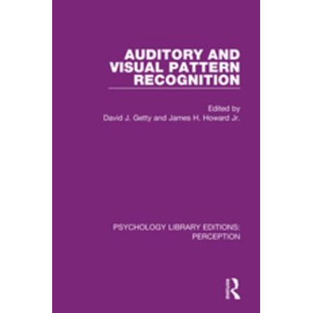 Auditory and Visual Pattern Recognition - eBook