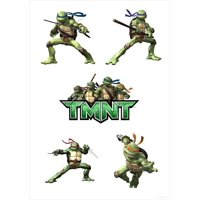 "TMNT - movie POSTER (Style A) (11"" x 17"") (2007)"