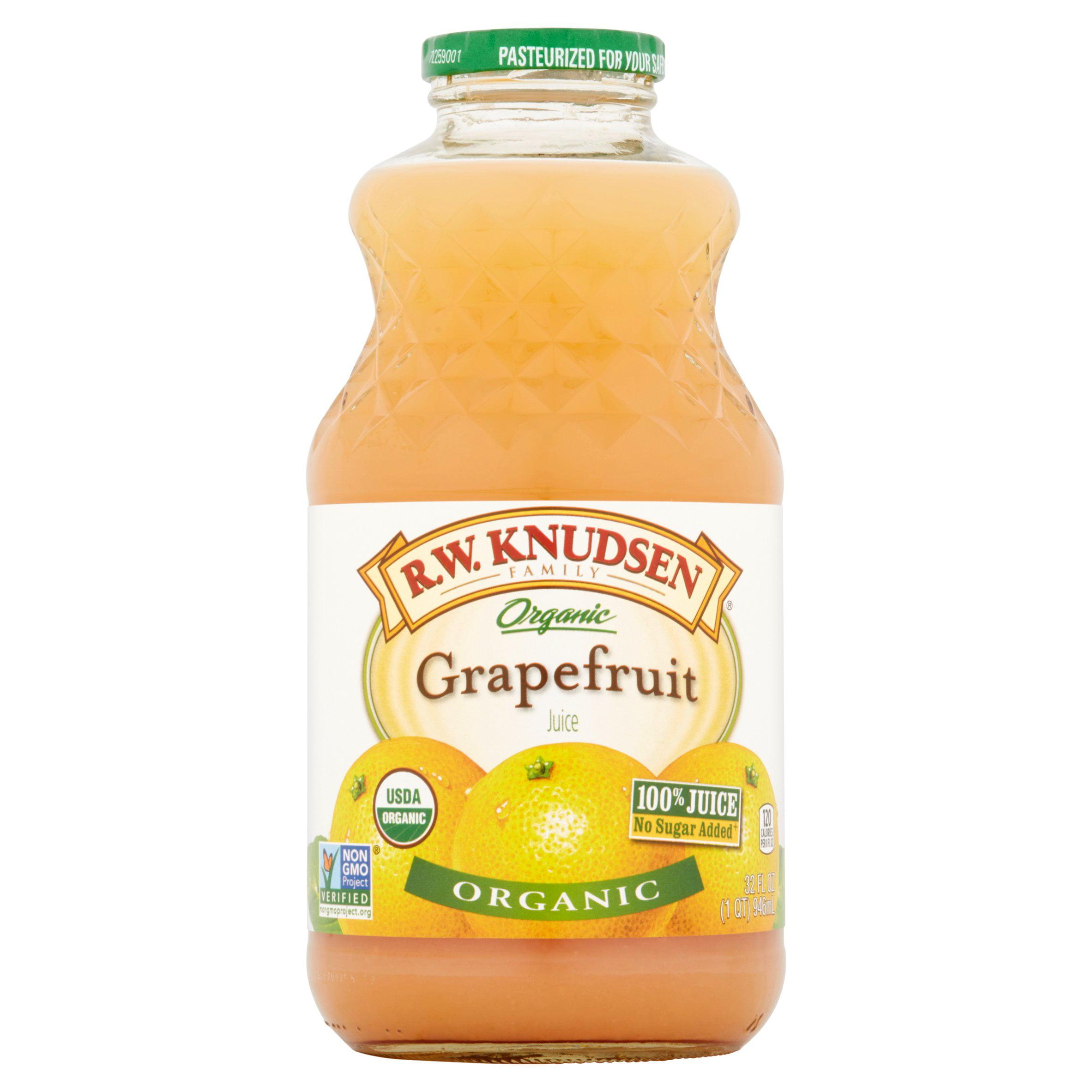 R.W. Knudsen Organic Grapefruit Juice, 32.0 FL OZ by Knudsen & Sons, Inc.